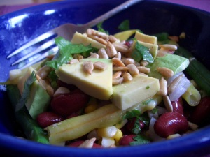 A better bean salad