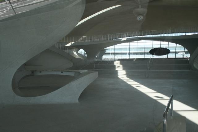 TWA interior