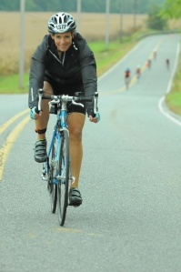 Bike course, Ironman 70.3 Poconos