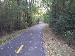 Part of the paved Goshen Trail