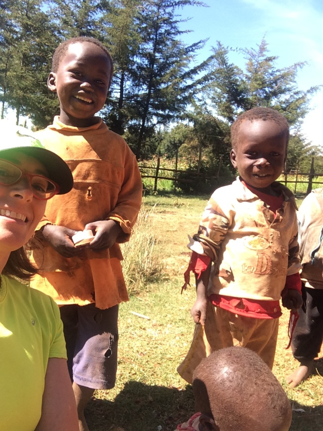 Kids I met on one of my runs in Iten